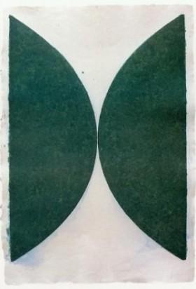 Ellsworth Kelly - Artiste Américaine - (Dark Green Curves), 1976