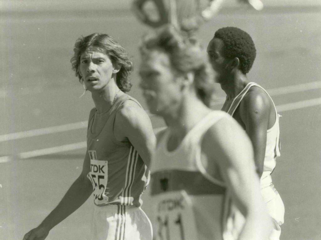 Philippe Dupont. Demi-finaliste des JO de Moscou en 1980 et multiple champion de France sur 800 m